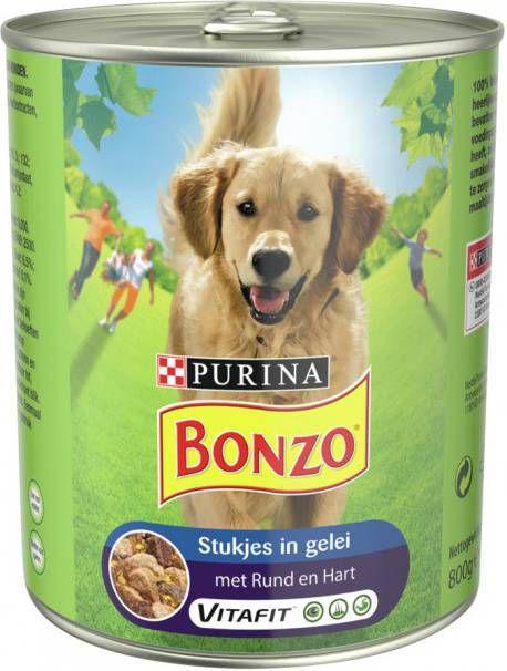 Bonzo Blik Voordeelvriend 800 g Rund&Hart - Hondenvoer online kopen