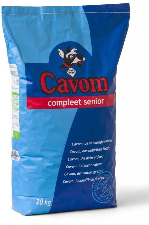 Cavom Compleet Senior Rund&Vlees 20 kg - Hondenvoer online kopen