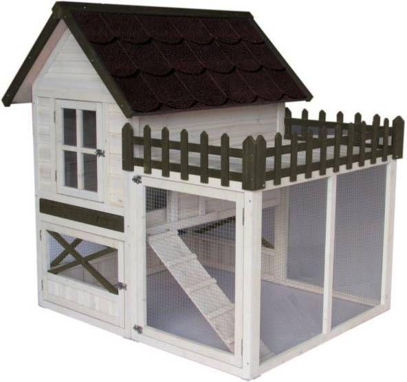 Hm Konijnenhok Estate 130x120x132 cm online kopen