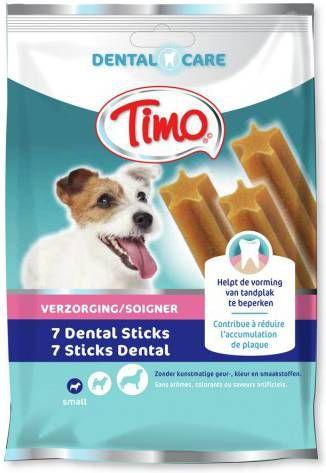 Timo Dental Care Sticks Small 7 stuks - Hondenvoer online kopen