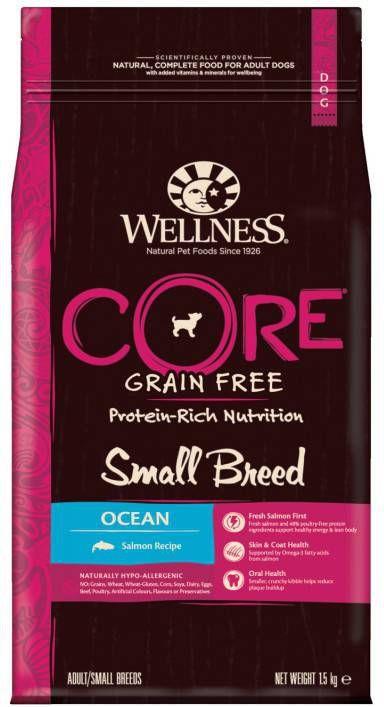 Wellness Core Grain Free Dog Small Breed 1.5 kg Zalm - Hondenvoer online kopen